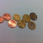 1,2,5,10,20,50 cent und 1 + 2 €uromünzen