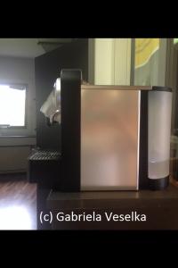 Nespresso Kapselmaschine - Seitenansicht