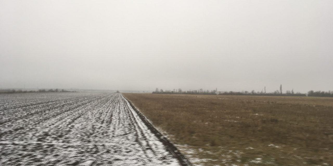 Wann bleibt Schnee liegen?