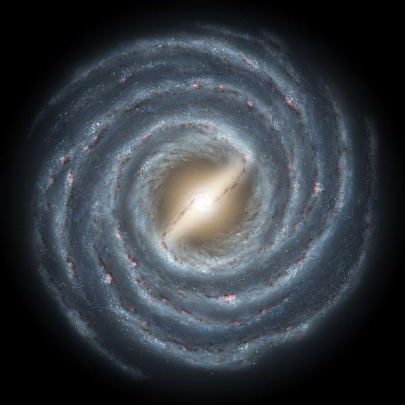 003 Schwarzes Loch und Astronauten